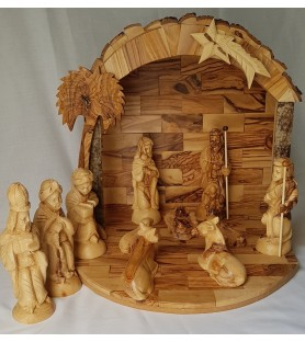 Large Ark Bark Nativity Set