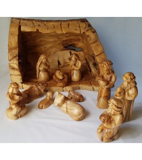 Medium Cave Nativity -...